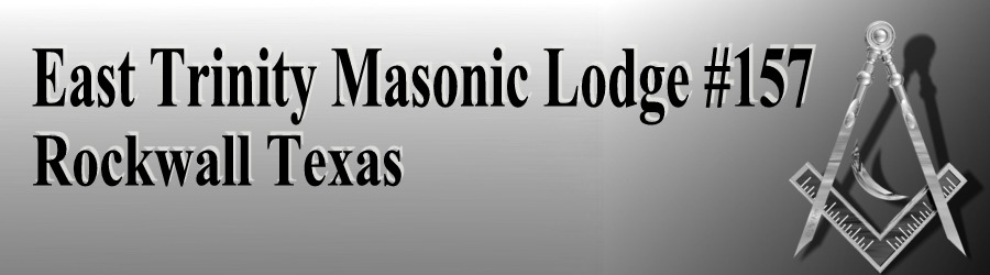 East Trinity Masonic Lodge Logo
