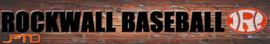 Rockwall Baseball Logo