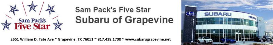 Five Star Subaru of Grapevine Logo