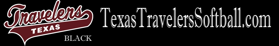 Texas Travelers Black Logo