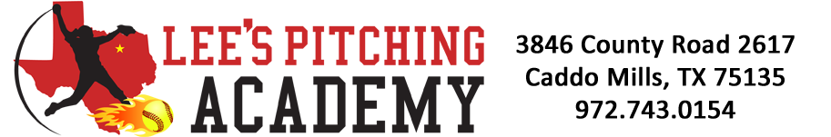 Lee's Pitching Academy Logo