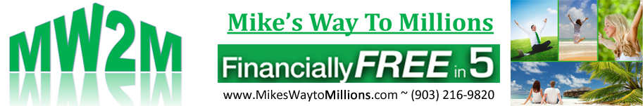 Mike's Way to Millions Logo
