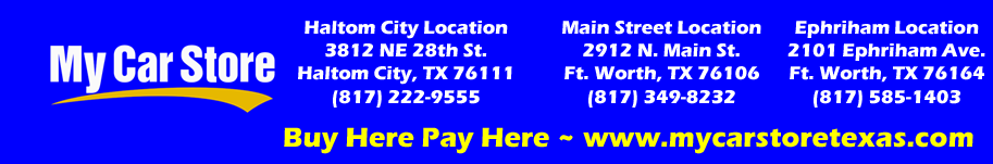 My Car Store Buy Here Pay Here Logo