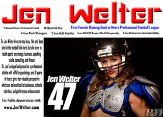 Review image from Dr. Jen Welter
