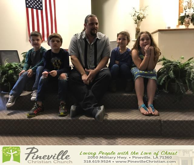 Review image from Bro. Jason teaching our children the Good News