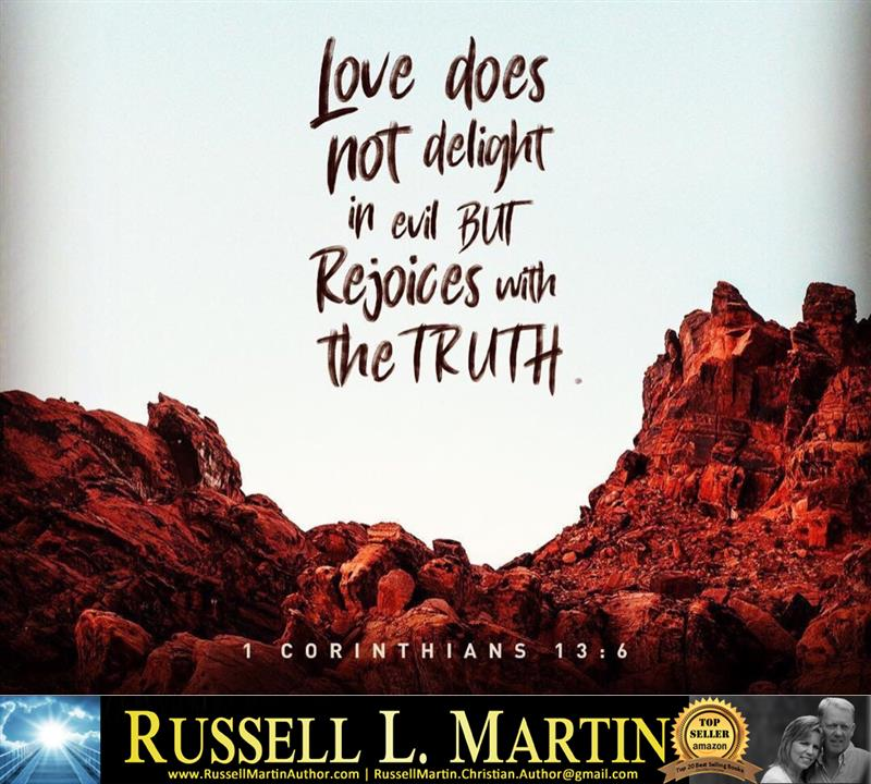 Review image from 1 Corinthians 13:6