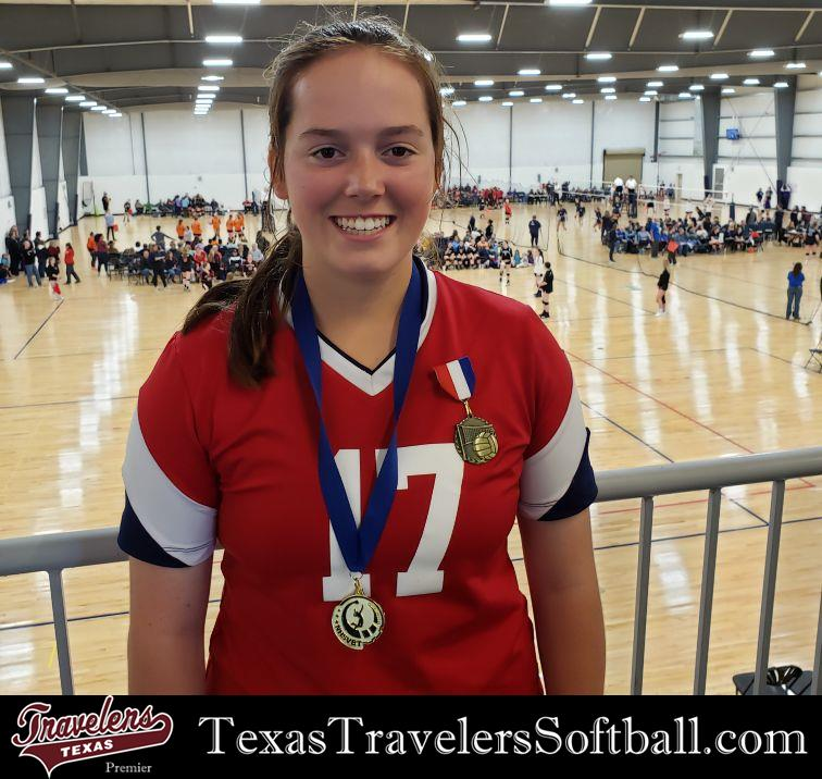 Review image from Elise Bonenberger selected for National All-Tournament Volleyball Team