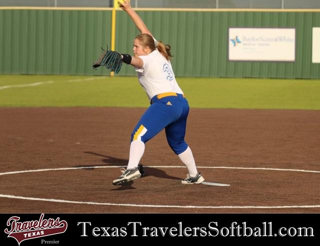 Review image from Emma Melvin, 2022 Freshman Varsity RHP/1B for Sunnyvale High School, Doubles To Right Center