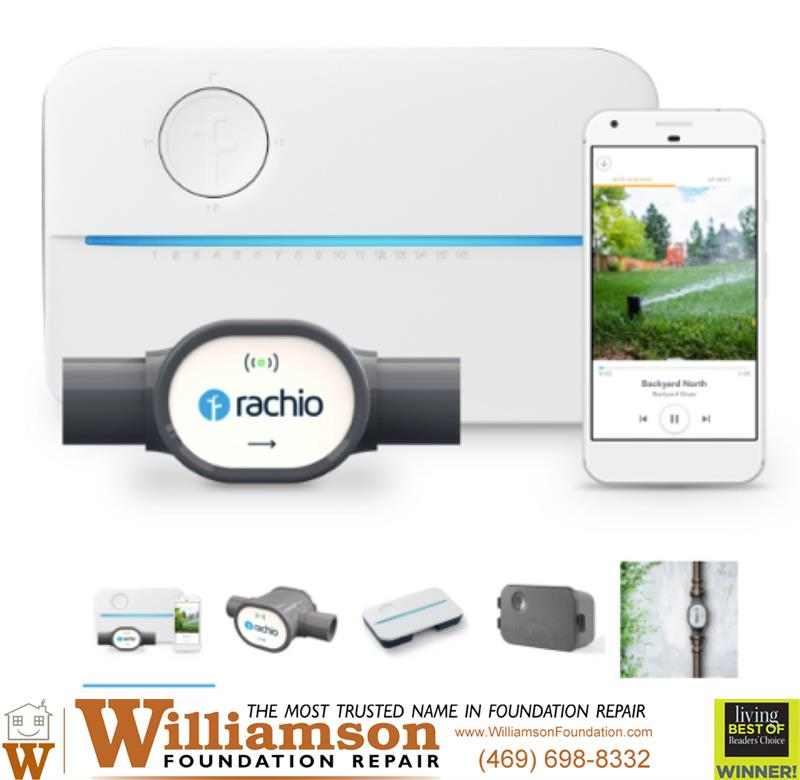 Review image from Rachio - Helping Simplify Foundation Watering