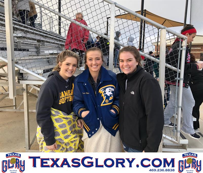 Review image from Alyssa, Kacie And Brooke Enjoy Some College Ball