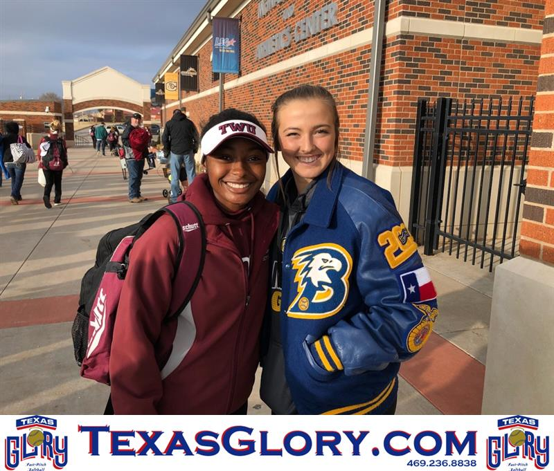 Review image from Kacie Supports Kenzie At TWU Game