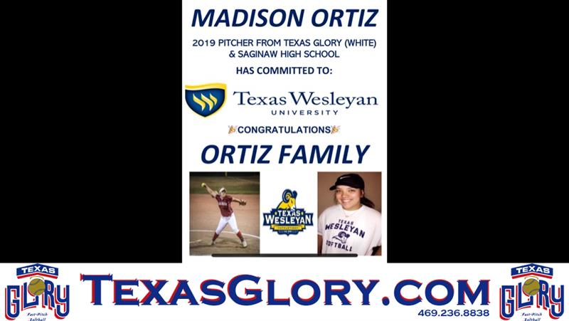 Review image from Madison Ortiz Commits To Texas Wesleyan