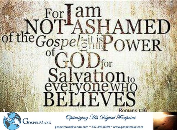 Review image from I Am Not Ashamed Romans1:16
