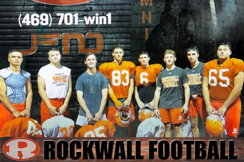 Review image from RYCA Alumni Get Ready For Rockwall Varsity Football