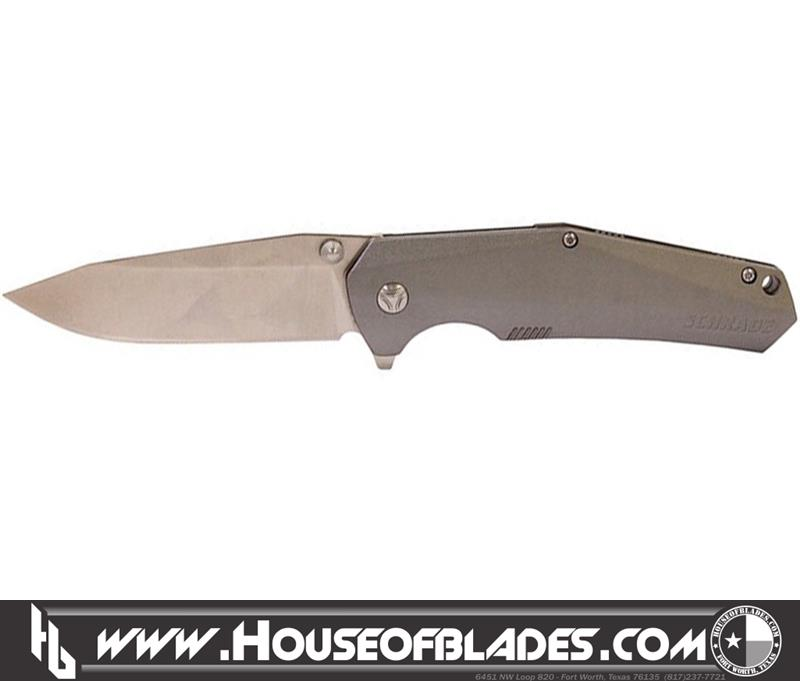 Review image from Schrade SCH306 Gray Plain Edge