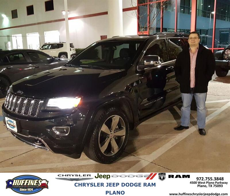 Review Image From Filipe. Rating. Tuesday 12/29/2015. Filipe. My Experience  At Huffines Chrysler Jeep Dodge RAM Plano.