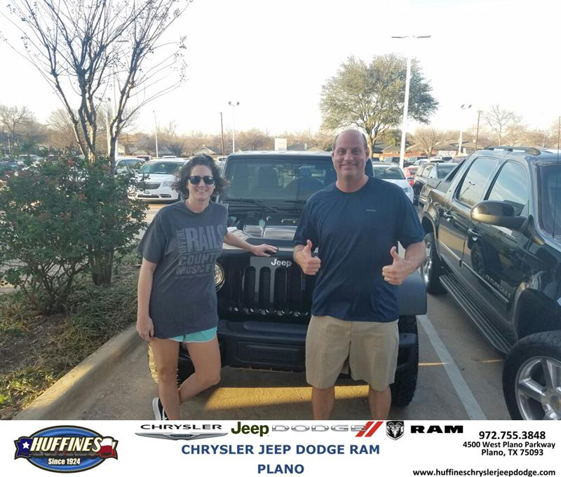 Huffines Chrysler Jeep Dodge Plano Review Testimonial