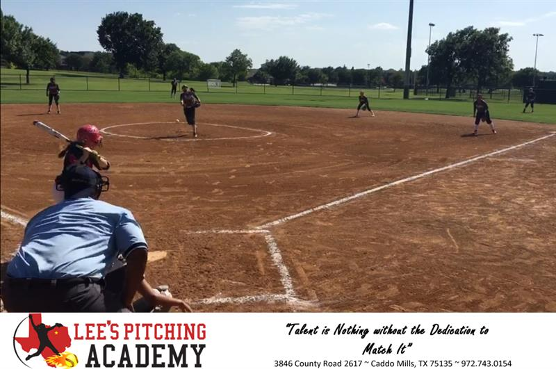 Review image from Ashley Minor Strikes Out 14U Grand Prairie Bombers Player