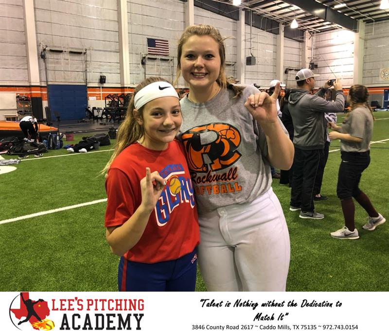 Review image from Lee's Pitching Academy Students Shine