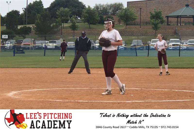 Review image from Elizabeth Schaefer Taking Mound During The Texas Challenge Series