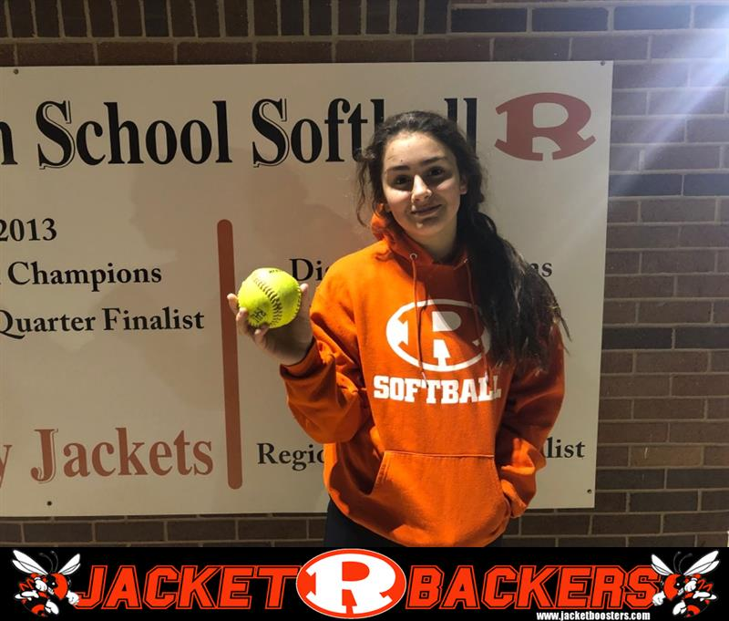 Review image from Brooke Barron Goes Yard In First Game Of The Season