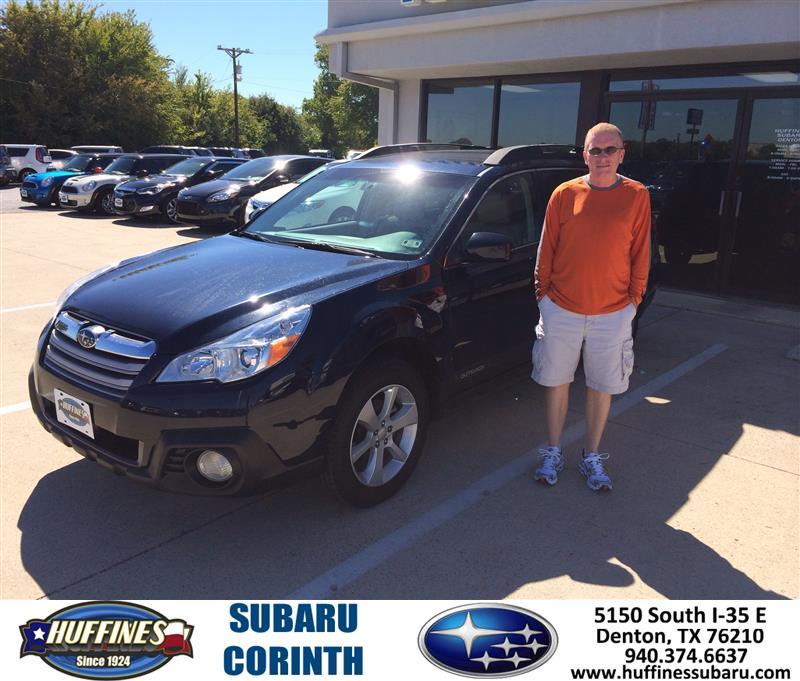 Huffines Subaru Corinth Customer Review Testimonial Page