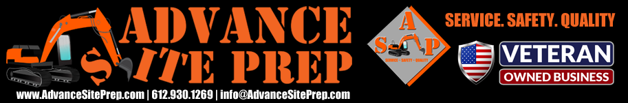 Advance Site Prep Logo