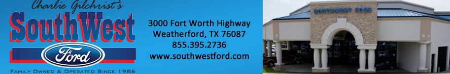 Southwest Ford Weatherford >> SouthWest Ford Customer Reviews | Page 1