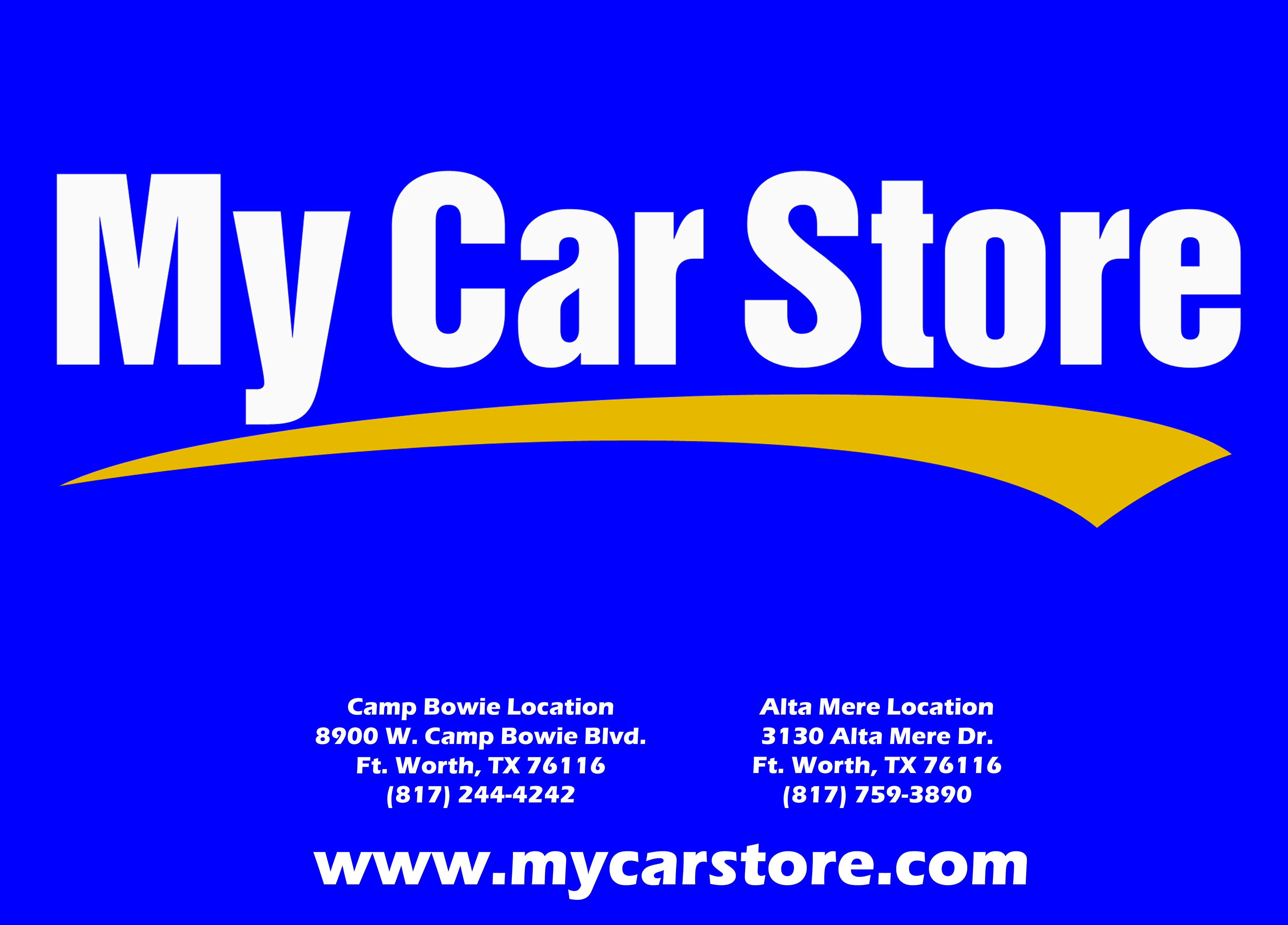 My Car Store Customer Reviews