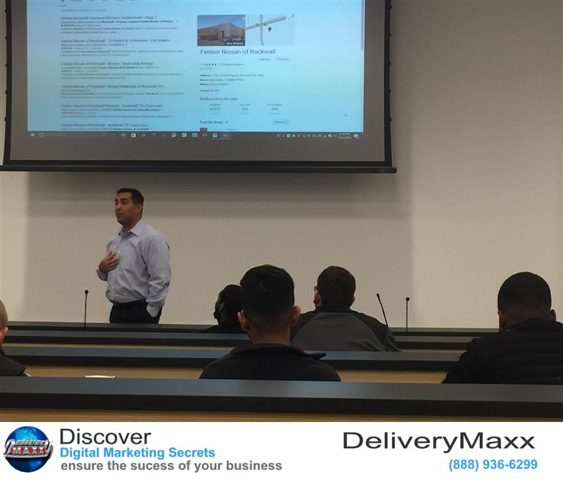 Review image from DeliveryMaxx Motivates Sales People